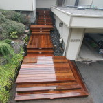 Ipe (ironwood ) stairway